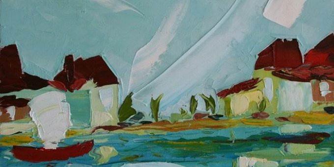 Грузинский художник Андрей Шенгелия