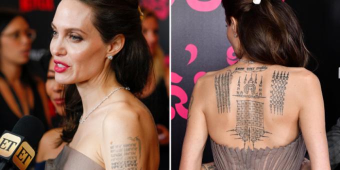 Самые необычные татуировки знаменитостей фото