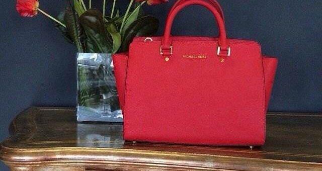 Красная сумочка – тренд нового сезона!