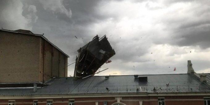 Ураган в Казани 30 мая 2018 фото и видео