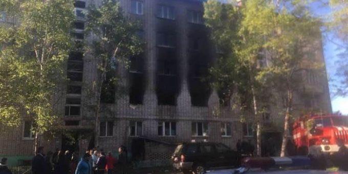 Взрыв газа под Хабаровском 9 июня 2018 фото