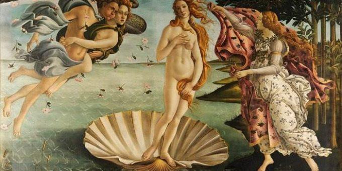 Кто изображён на картине «Рождение Венеры» Боттичелли