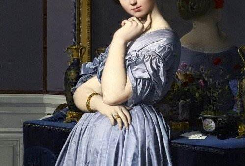 Пленительная красота французских женщин Жан Огюст Доминик Энгр