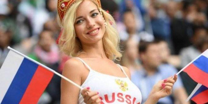 Самая красивая болельщица 2018 Наталья Немчинова фото