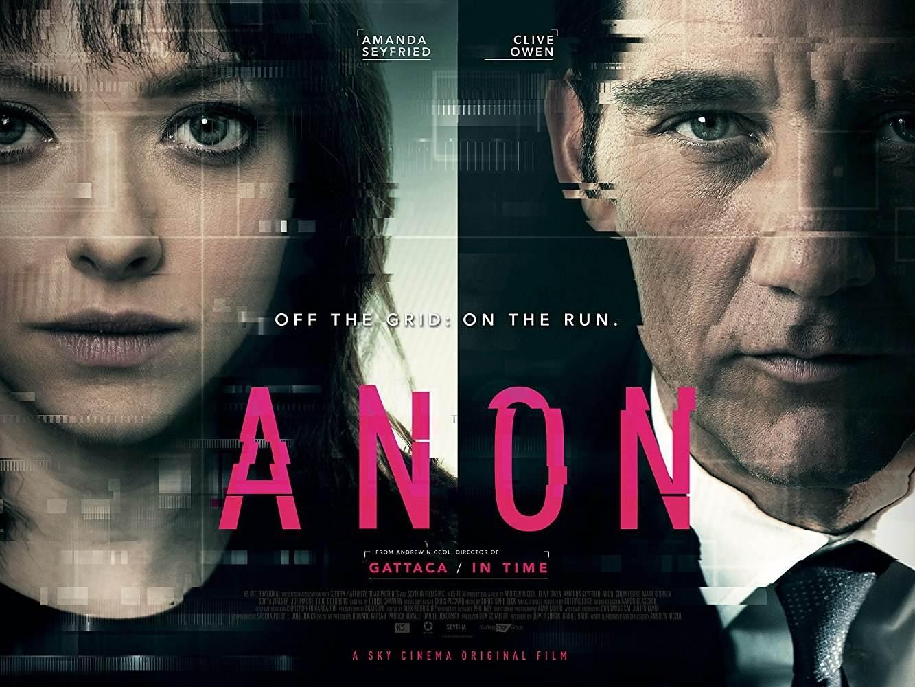 Анон (2018) смотреть онлайн в хорошем качестве