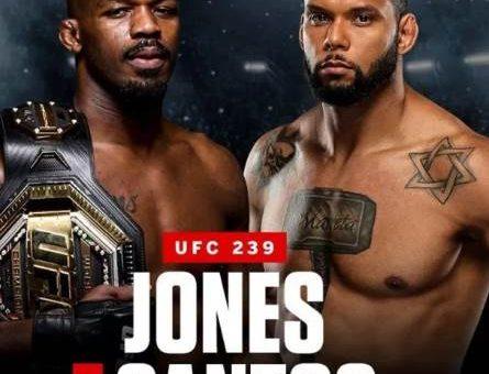 Джон Джонс - Тиаго Сантос UFC 239 видео