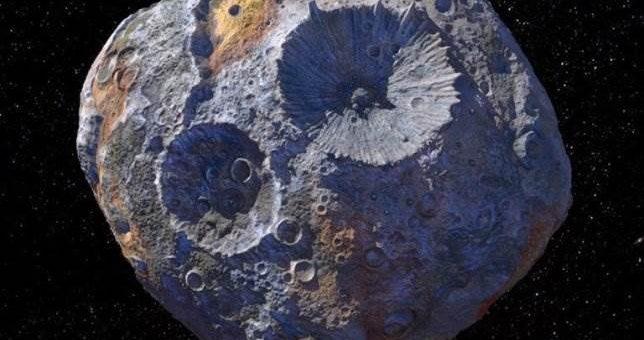 Астероид из платины и золота (16) Психея