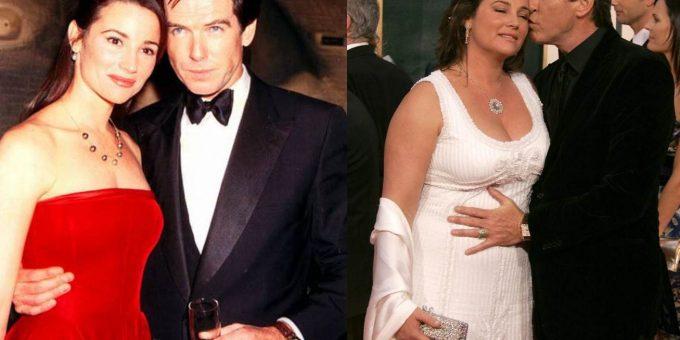Жена Пирса Броснана - была худышкой, стала пышечкой, но Пирс считает её идеалом