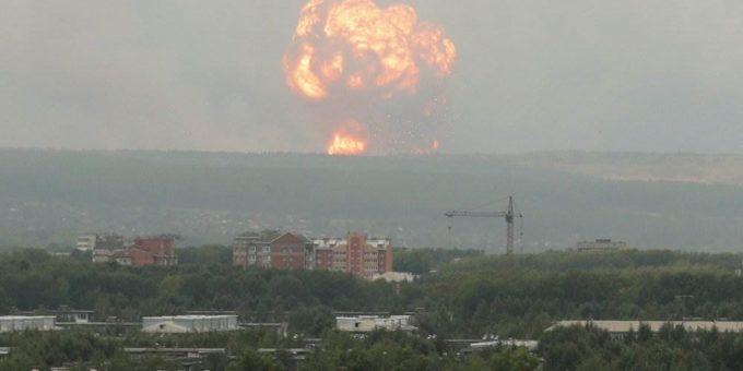 Взрывы в Красноярском крае 5.08.2019 фото и видео