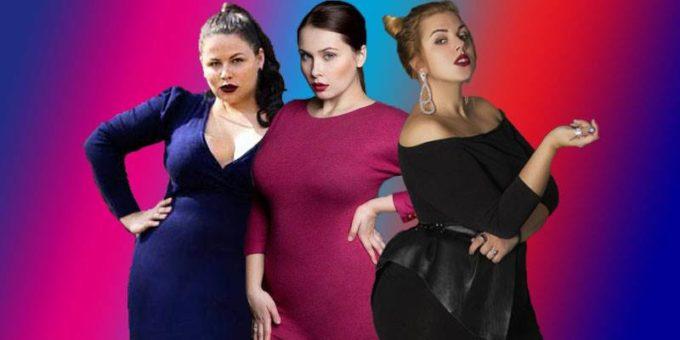 Три русских модели плюс-сайз: Ирина Черемных, Светлана Каширова и Каталина Горских