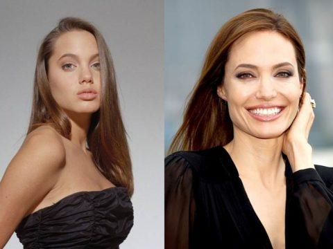 Анджелина Джоли в молодости (18 фото)