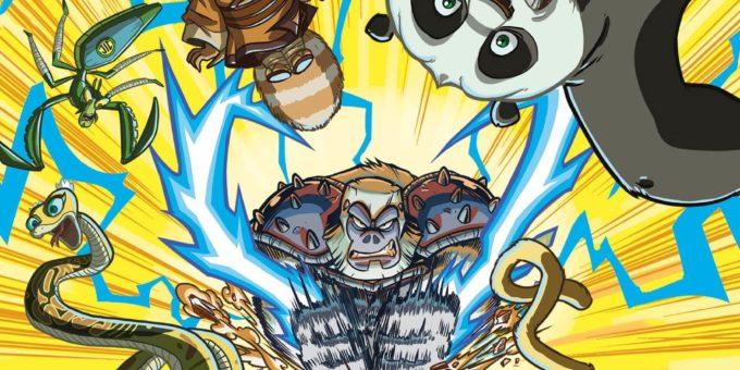 Комикс Кунг-фу панда часть 3