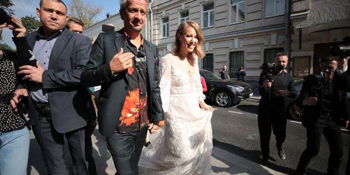 Свадьба Собчак и Богомолова 13.09.2019 фото