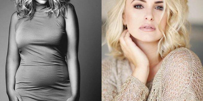 Зеленоглазая блондинка с пышными формами, английская плюс-сайз модель Джина Свайр