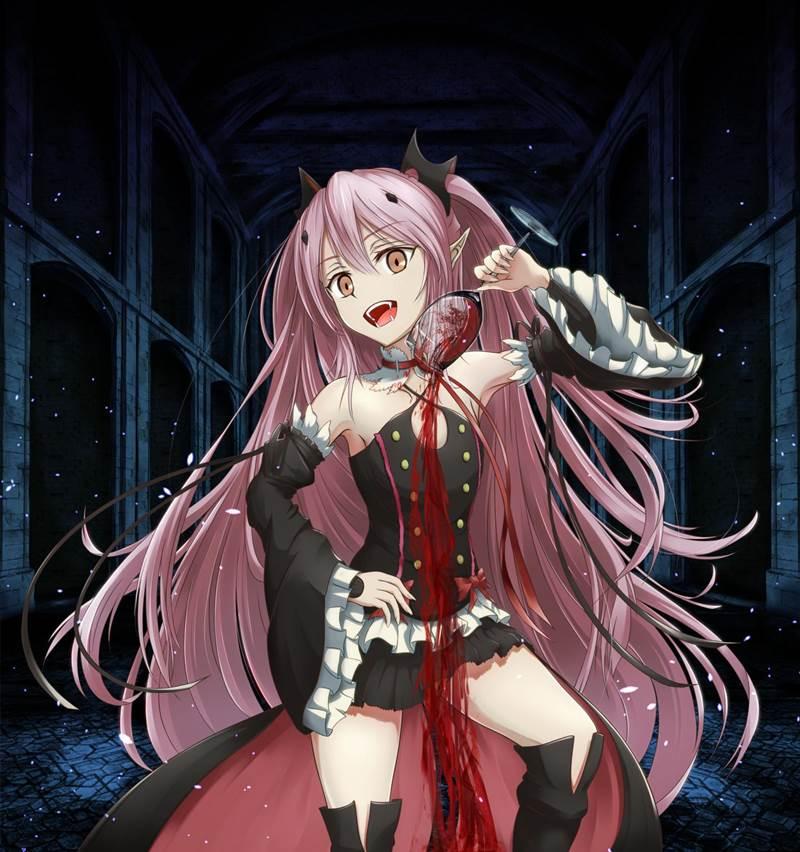 Картинки аниме девочки вампирши
