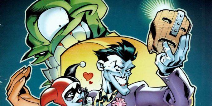 Джокер Маска комикс. Часть 1
