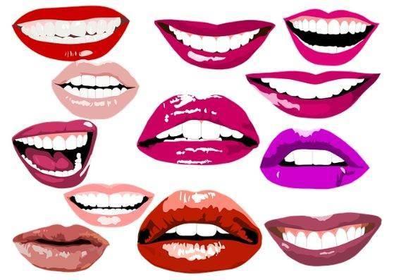 Как рисовать губы