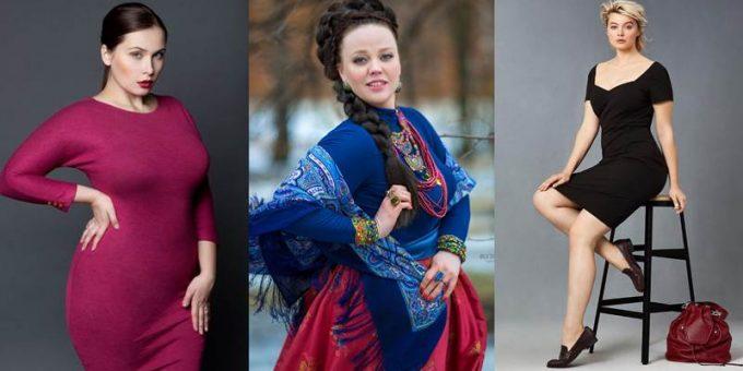 Русские модели с пышными формами: Светлана Каширова, Людмила Логунова, Христиана Казакова