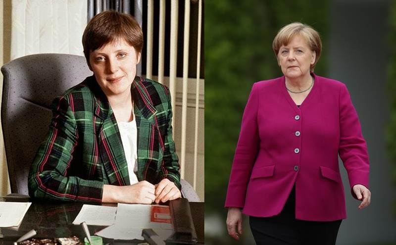 Все фото ангелы меркель в молодости