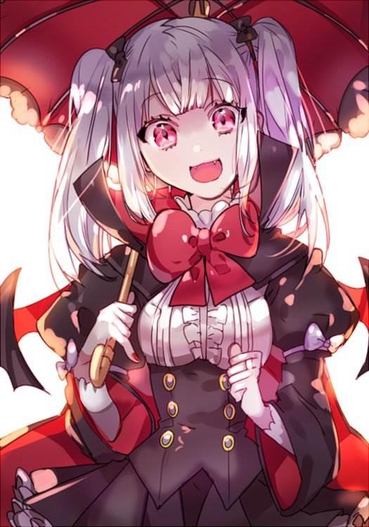 Картинки девушки вампиры аниме