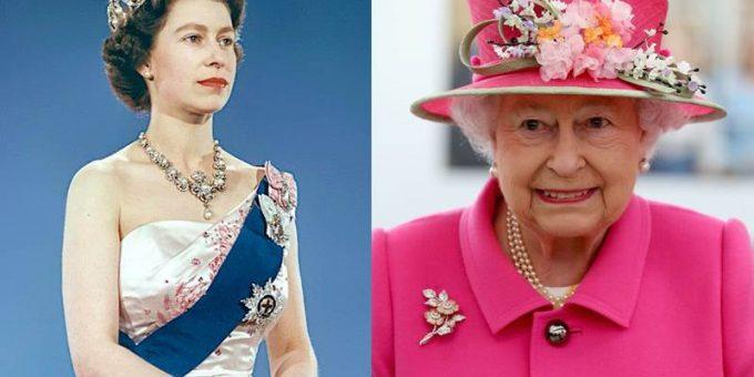 Елизавета II в молодости