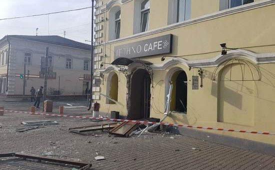 Взрыв газа в кафе в Улан-Удэ фото