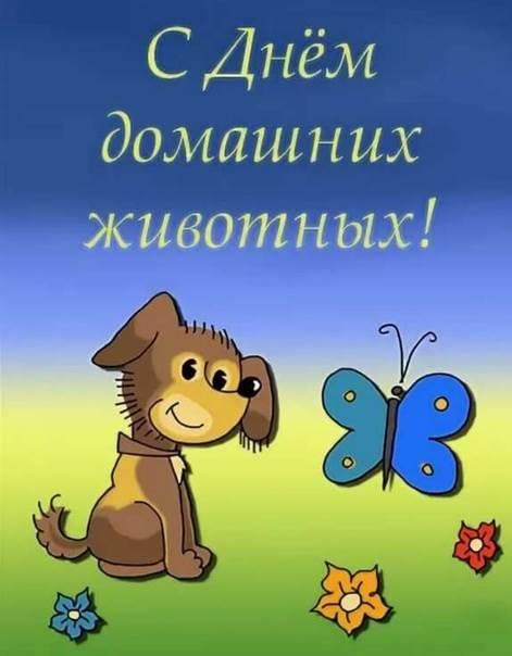 время находилась открытки день домашних животных 30 ноября большой