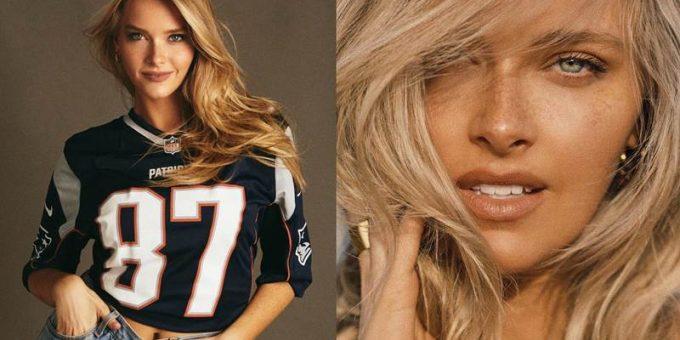 Чирлидер и модель, эффектная блондинка Камилла Костек
