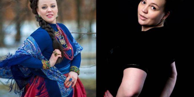 Красота пышных форм. Русская модель плюс-сайз Людмила Логунова