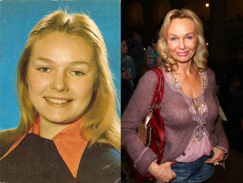 Наталья Андрейченко фото в молодости и сейчас