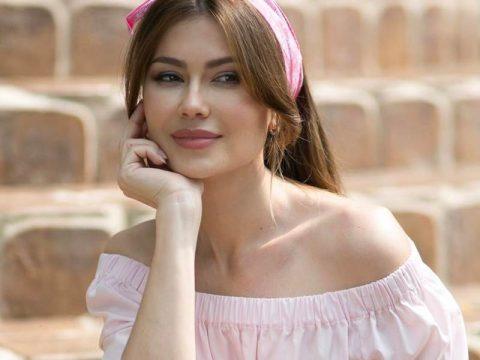 Телеведущая Ольга Ушакова