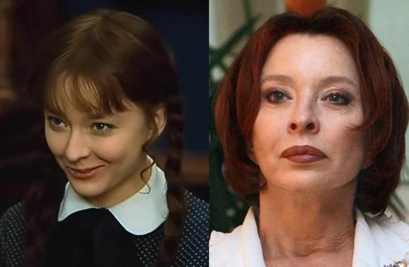 Анастасия Вертинская фото в молодости и сейчас