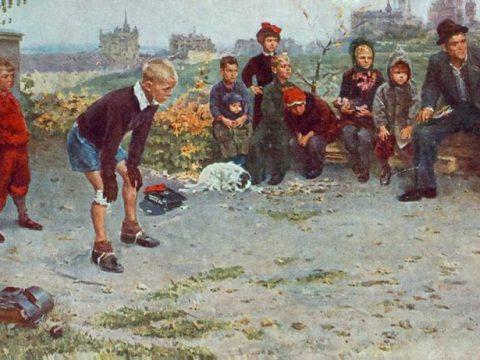 Вратарь картина Григорьева