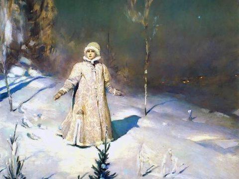 Снегурочка картина Васнецова