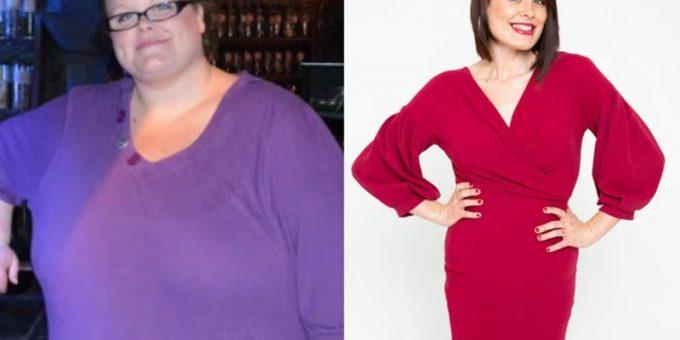 Женщина решила похудеть после того, как сломала американские горки