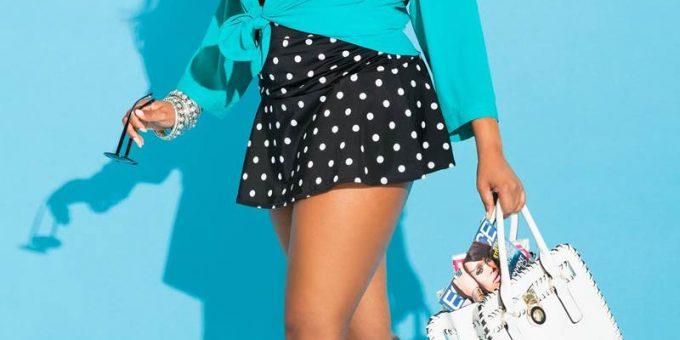 Темнокожие модели с пышными формами, стильная плюс-сайз красота