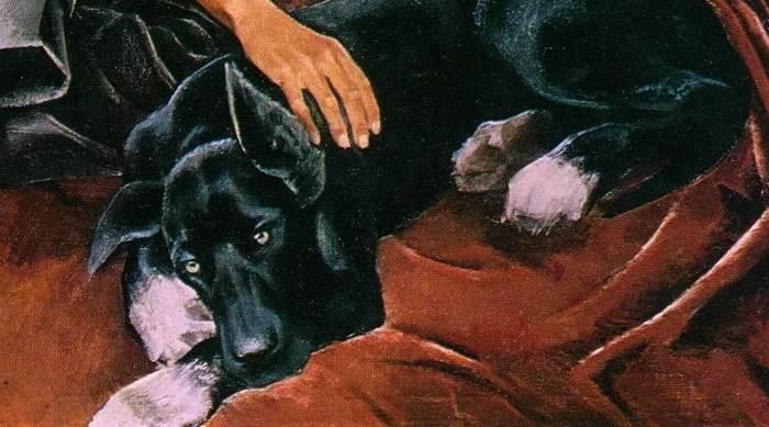 Фрагмент картины Широкова Друзья