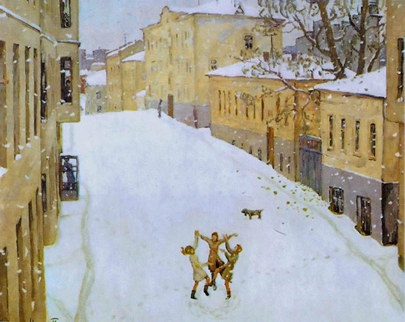 Картинка попов первый снег