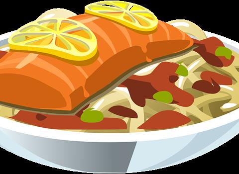 Блюдо из рыбы картинка