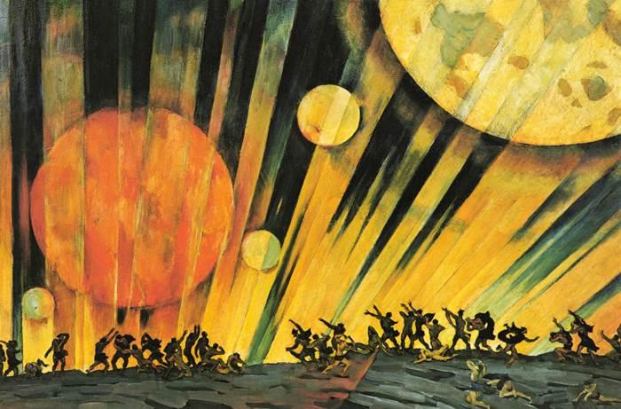 Юон картина Новая планета