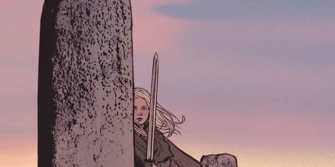 Комикс Дочь меча. Выпуск 3