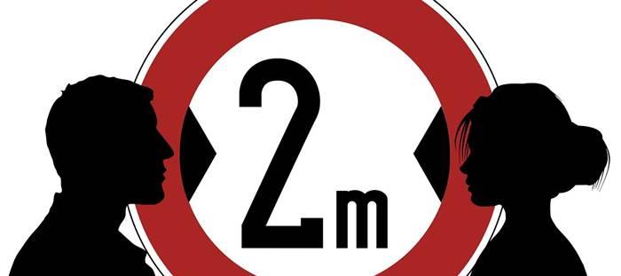 Коронавирус дистанция 2 метра