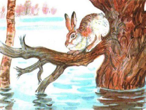 Картина Комарова Наводнение
