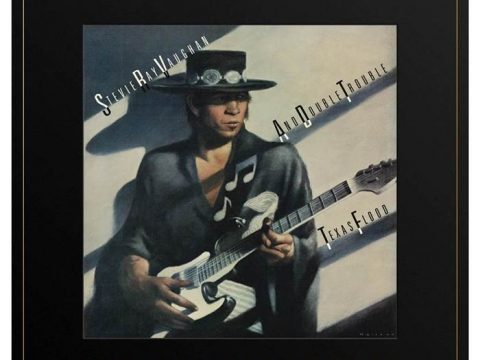 Современное издание Stevie Ray Vaughan and Double Trouble Texas Flood