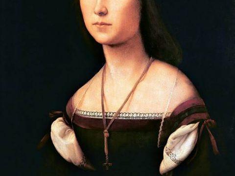 Рафаэль Санти - Портрет молодой женщины