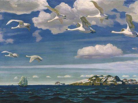 Картина Рылова В голубом просторе описание