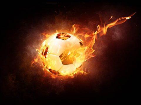 Футбольный мяч картинка