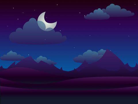 Луна картинка