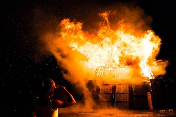Пожар в доме к чему снится
