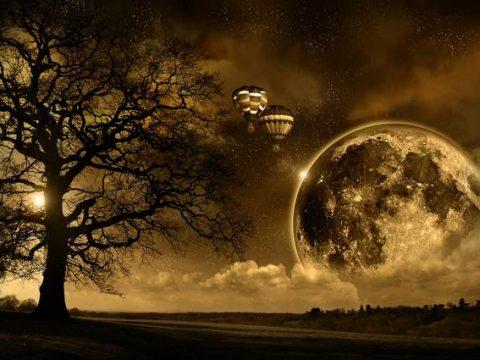 Фэнтези лунная ночь